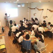 今宮高校「World Studies」の授業をココウェルカフェで行いました!