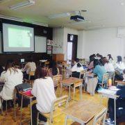 宮城女子学院大学でオンライン授業。