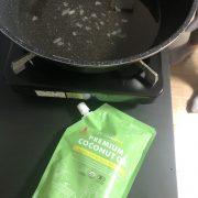 揚げ物はやっぱりココナッツオイルで!!