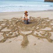 ココウェルカフェ5周年記念 秋山祥子さん個展「大地とコネクト」によせて