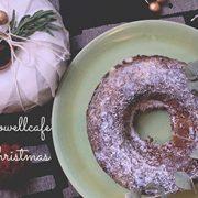 ココウェルカフェのクリスマスケーキ
