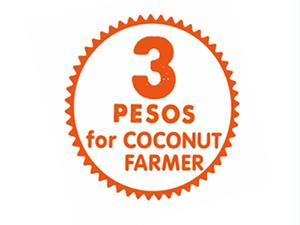 3PESOS for COCONUT FARMER